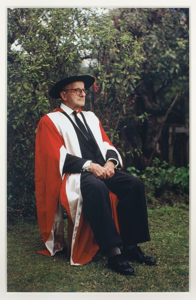 Frederick Robinson in academic dress