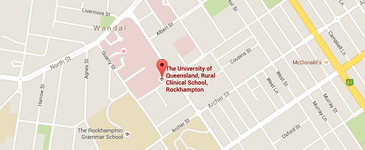 RCS Rockhampton on Google Maps.