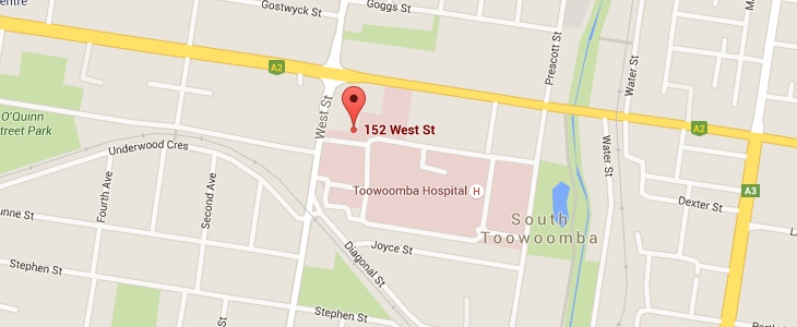 RCS Toowoomba on Google Maps.
