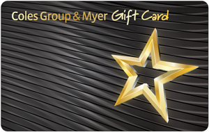 Coles Group & Myer Gift Card