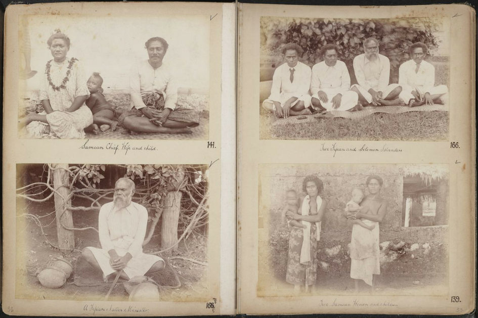 Image of photograph album from Father Edward Leo Hayes collection