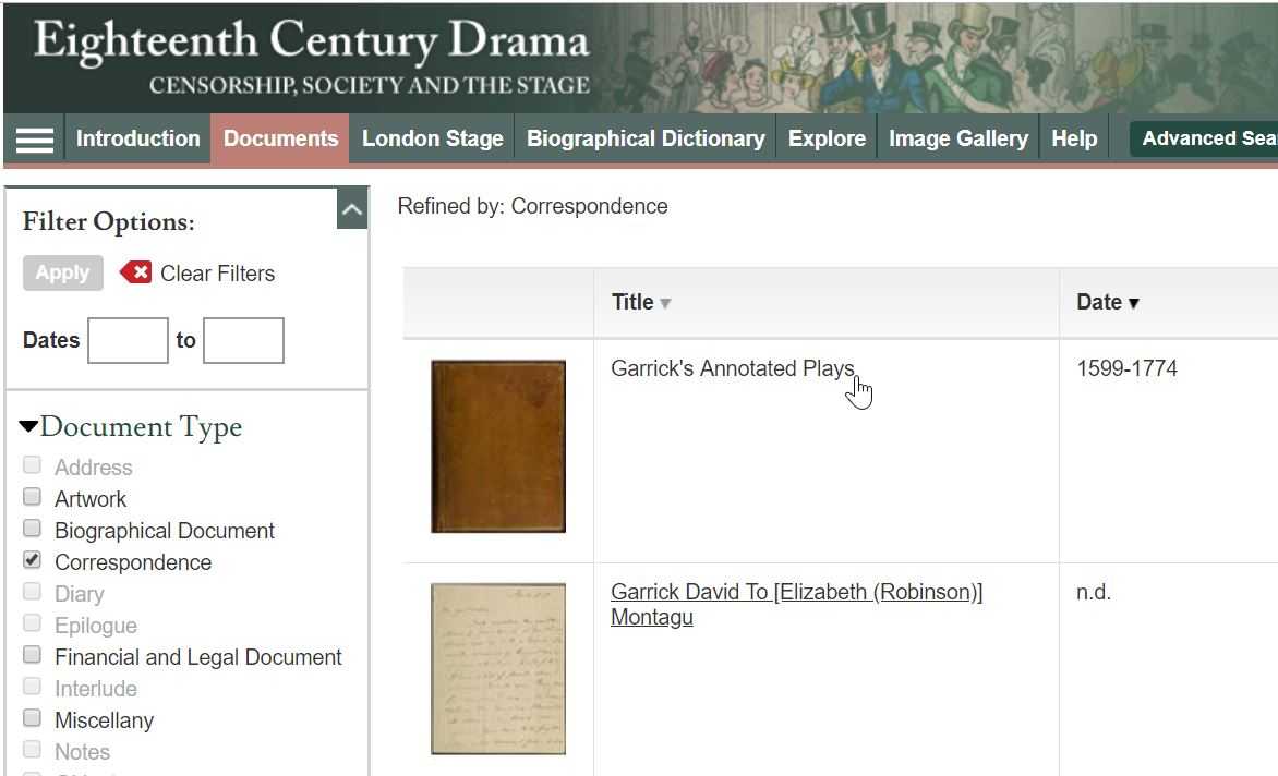 Explore rich drama and theatre resources online - Library