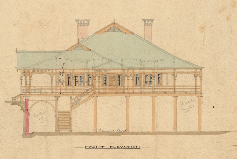 Elevation of Montrose House