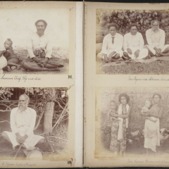 Photographs of 'Samoa & Fijian Views' album from Father Edward Leo Hayes Collection, UQFL2