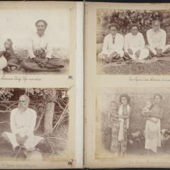 Photographs of 'Samoa & Fijian Views' album from Father Edward Leo Hayes Collection, UQFL2