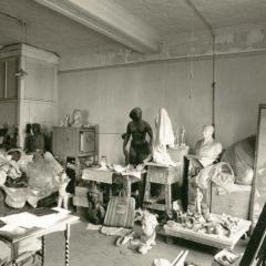 Daphne Mayo's Sydney studio, 1981