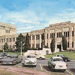 Queensland University, Brisbane, 1965