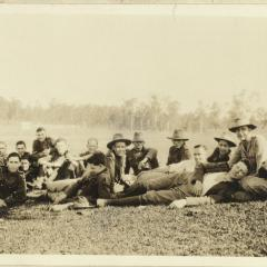 Student soldiers at the University of Queensland