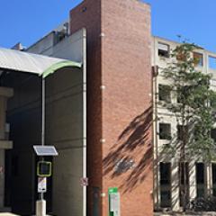 Exterior of Hawken Engineering Building