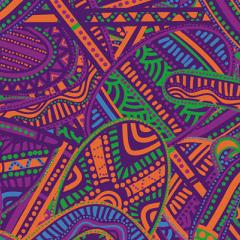 Portion of artwork A Guidance Through Time created by Quandamooka artists Casey Coolwell and Kyra Mancktelow for The University of Queensland Reconciliation Action Plan