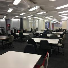 Level two study space, Dorothy Hill Engineering and Sciences Library