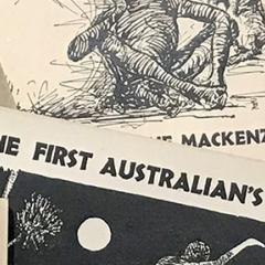 Covers of the First Australians readers by Geraldine Mackenzie, 1951