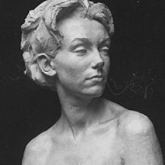 Sculpture of Student head