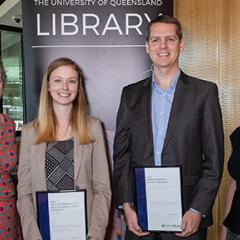 Taylor and Francis Group Excellence Award in Research Winners at Presentation